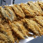 Gefrituurde ansjovis (Marokkaans)