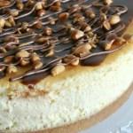 Snickers Cheesecake (met pinda's en karamel)