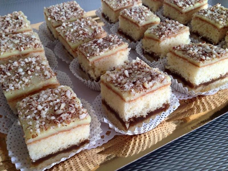 Crème patissiere cake