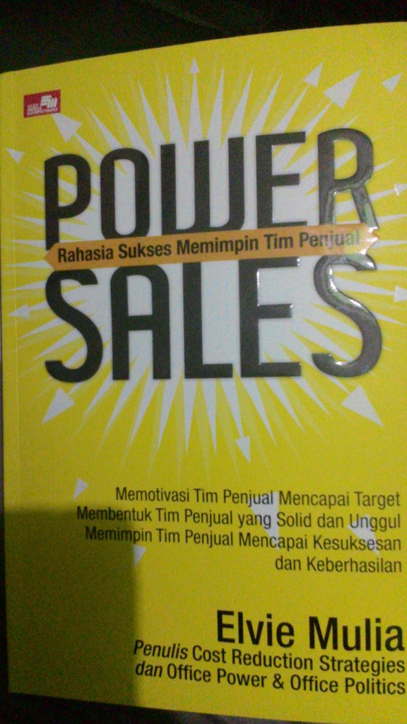 buku Power Sales by Evie Mulia