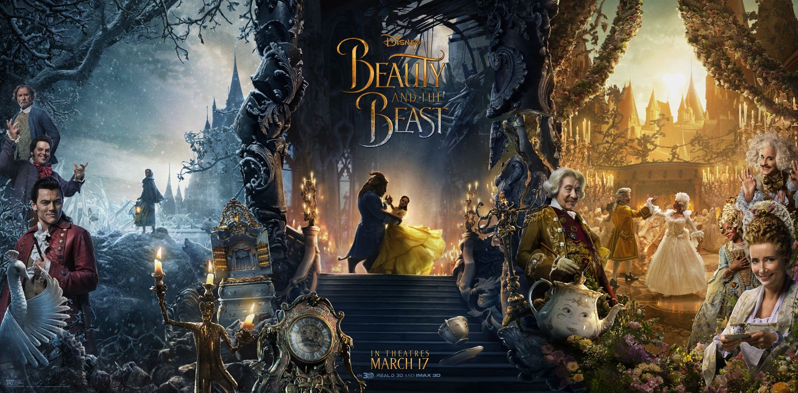 Image result for beauty and the beast banner