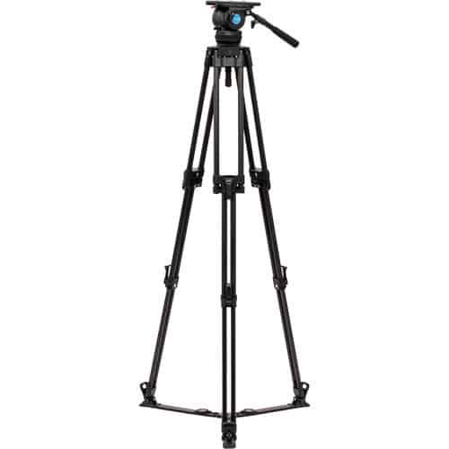 Benro 三角架攝像攝影液壓三腳架雲台
