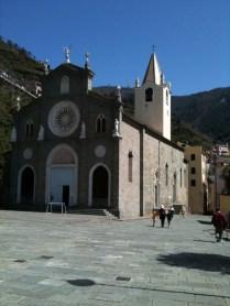 Riomaggiore church.