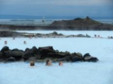Lake Myvatn thermal baths.