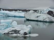 Iceberg at Jokulsarlon.