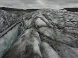 Svinafellsjokull glacier.