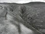 Crevasses in Svinafellsjokull glacier.