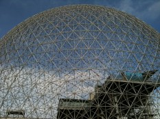 Montreal Biosphere dome.