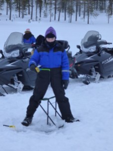 Dec ice-fishing.