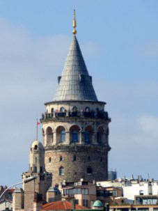 The Galata Tower.
