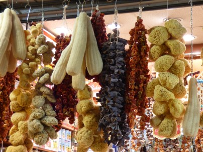 Sponges in the Spice Markets.