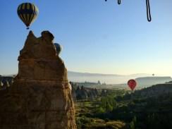 Cappadocia ballooning.