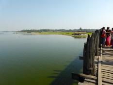 The longest teak bridge.