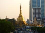 Golden stupa.