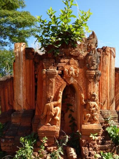 A hole makes it a temple not a stuppa.