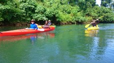 Kayakers.