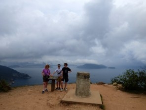 Shek O and clouds.