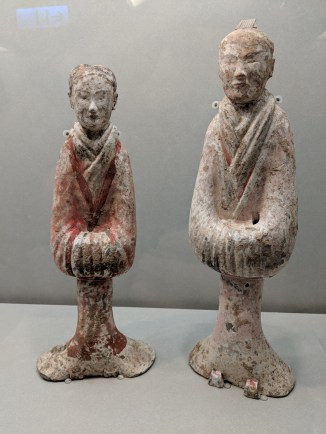 Figurines in National Palace Museum.