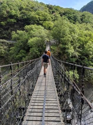 Taroko Gorge bridge.