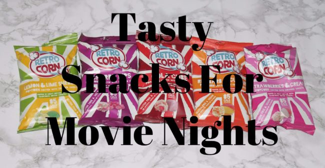 tasty snacks for movie nights
