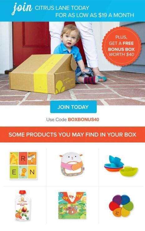 Citrus Lane Bonus Box
