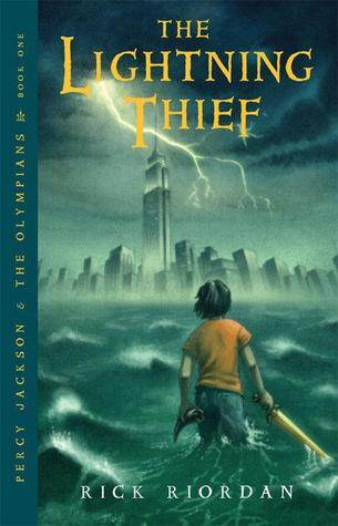 Audio Book Review: The Lightning Thief by Rick Riordan