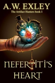 Friday Book Beginnings: Nefertiti's Heart by A.W. Exley