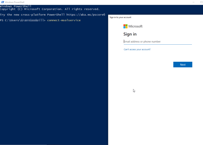 How to install Azure Active Directory Module (MSOnline)