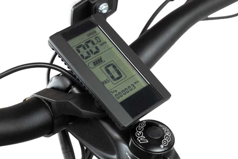 Rambo Krusader 500w AWD Electric Bike LCD