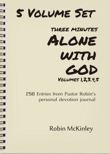 3 Minutes Alone with God