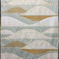 All is Bright Modern Quilt Handmade