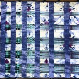 Colonnade Modern Quilt Handmade