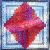 Embers Modern Quilt Handmade