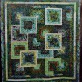 Herb Garden Modern Quilt Handmade