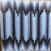 Ink Modern Quilt Handmade