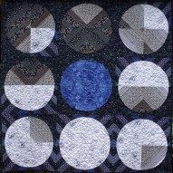 Moonshine Modern Quilt Handmade