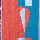 Orange Crush Modern Quilt Table Runner Handmade