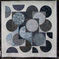 Spring Thaw Modern Quilt Handmade