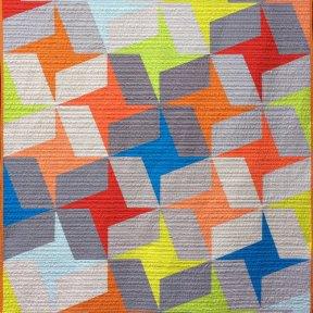Summer Fling Modern Quilt Handmade