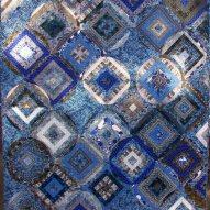 Tide Pool Modern Quilt Handmade
