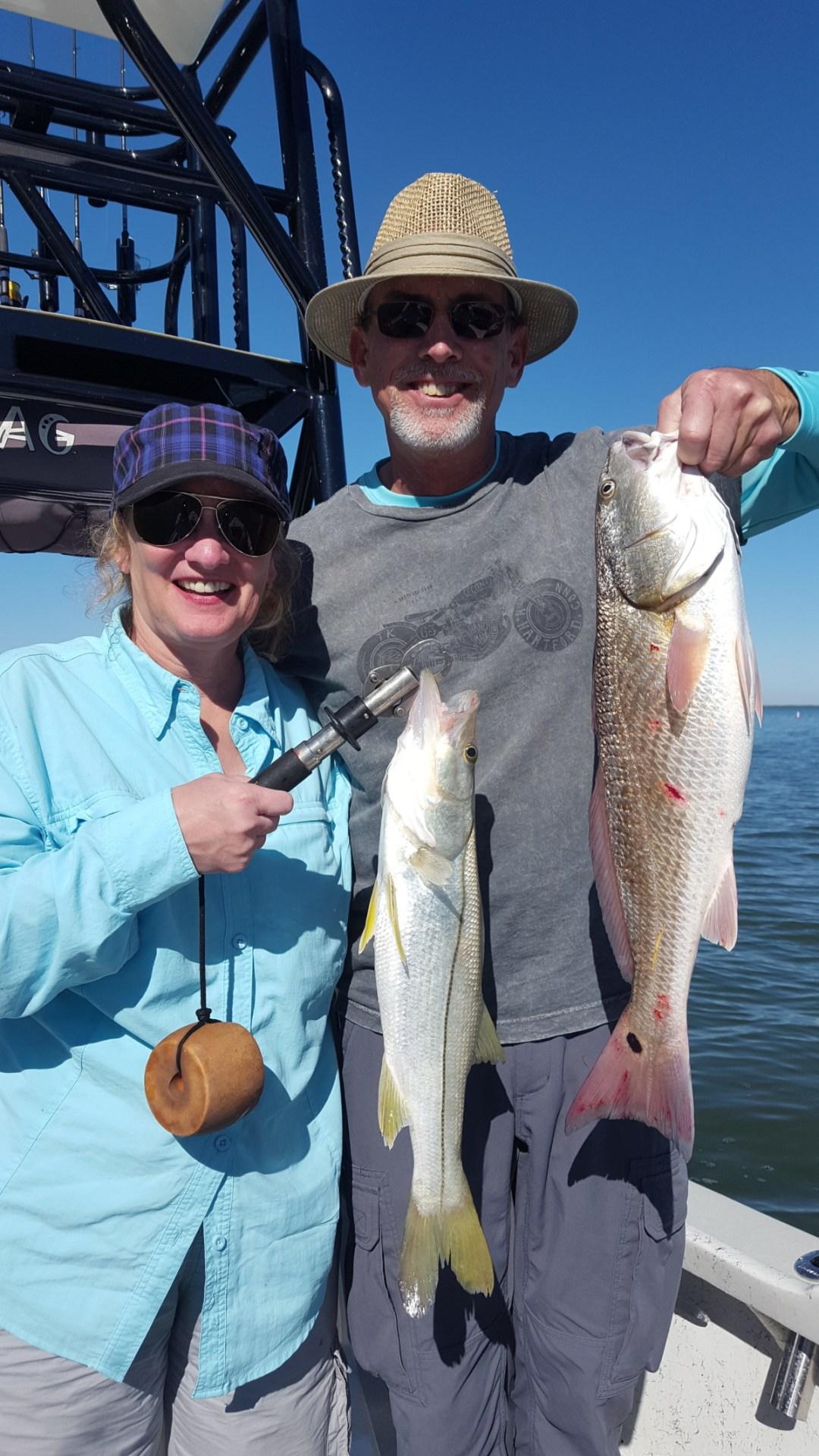 Snook Redfish Sanibel Fishing Charter