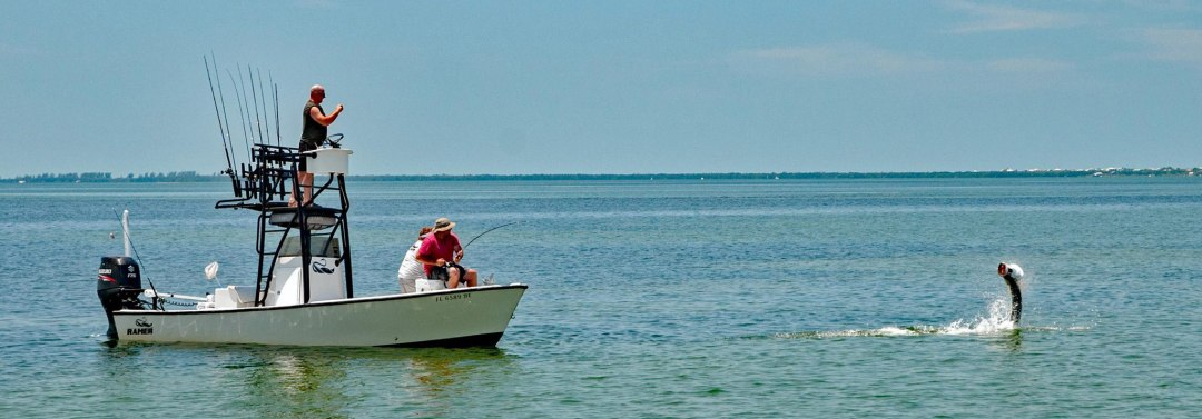 charter fishing for Tarpon