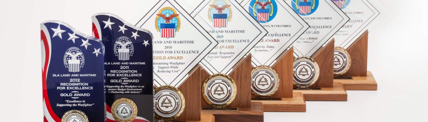 Gold awards from US government