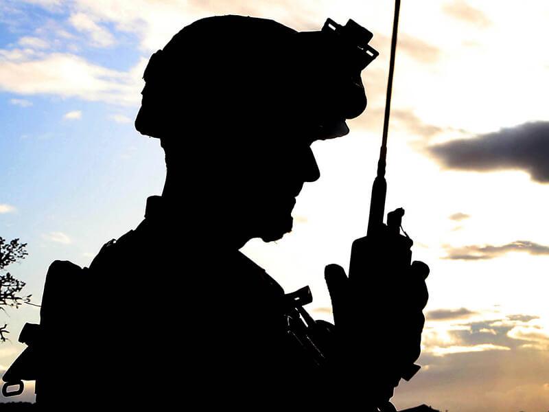 military handheld