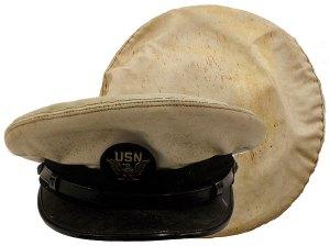 Military Hat Before Restoration