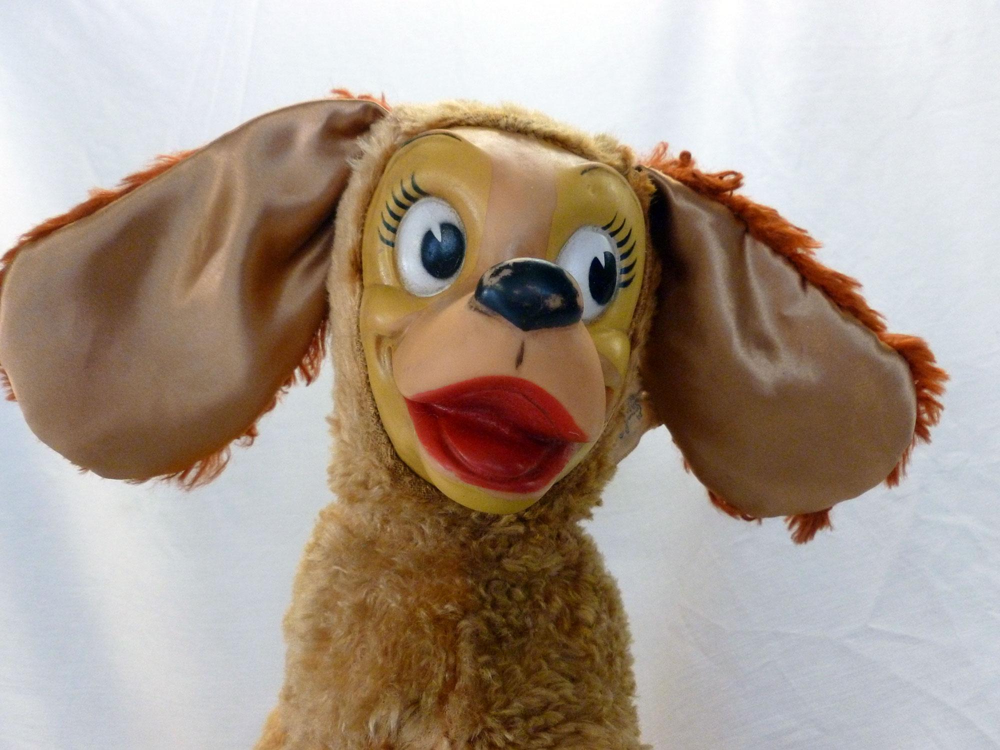 Restored Vintage Stuffed Animal