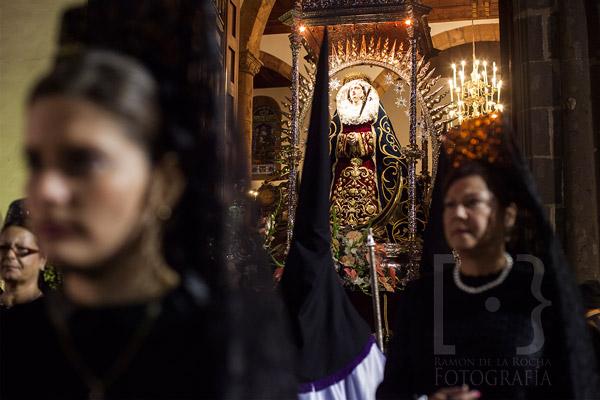 Procesión de Semana Santa en el Martes Santo de La Laguna