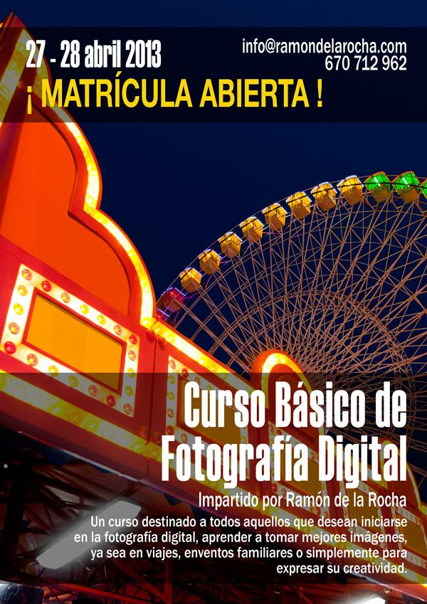Curso Básico de Fotografía Digital en Teneirfe