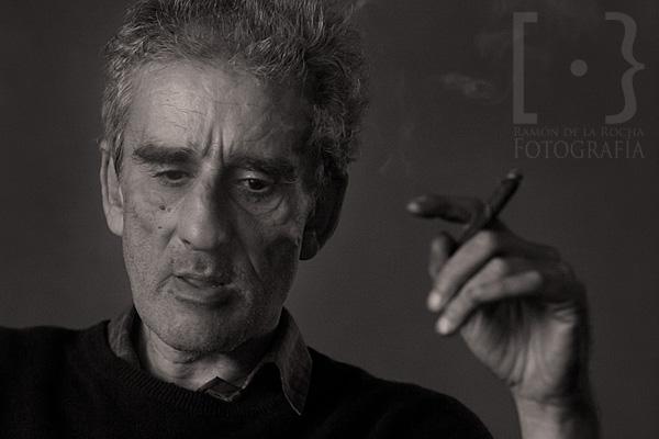 Leopoldo María Panero en un momento de la entrevista. © Ramón de la Rocha