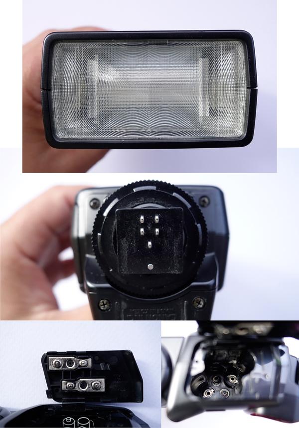 Detalles del flash Canon 420EX